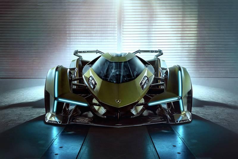 The Lambo V12 Vision GT