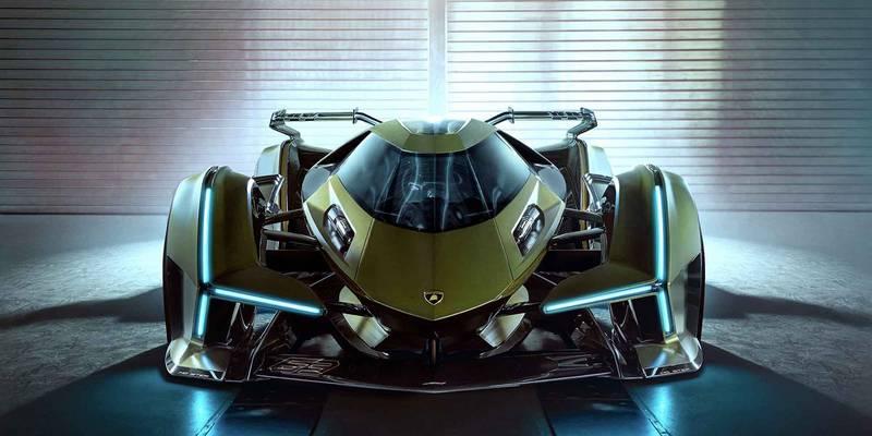 Lamborghini unveils V12 hybrid Gran Turismo concept car