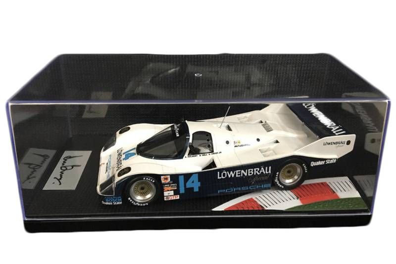 Signed Porsche model
