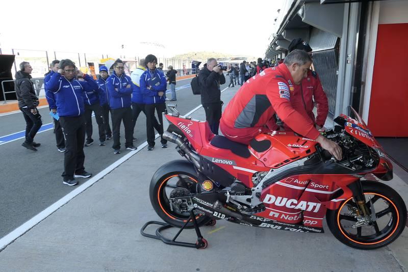 MotoGP 2020 testing at Valencia