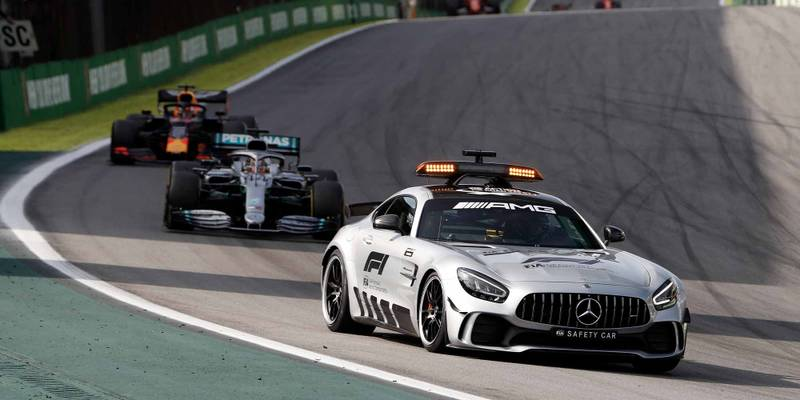The safety car that electrified the Brazilian GP: why it was used, and why it stayed out