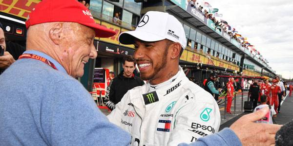 MPH: How Niki Lauda lured Lewis Hamilton to Mercedes – and their great friendship