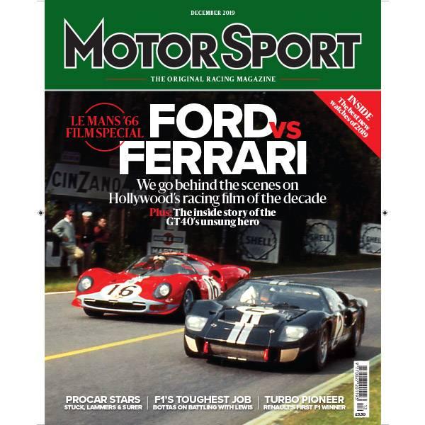 Product image for December 2019 | Ford Vs Ferrari | Motor Sport Magazine