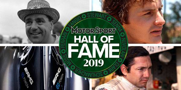 Motor Sport Hall of Fame 2019: racing greats honoured