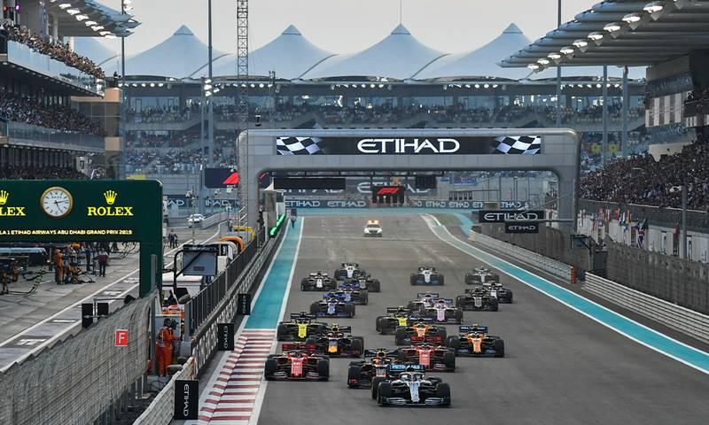 2019 Abu Dhabi Grand Prix race results