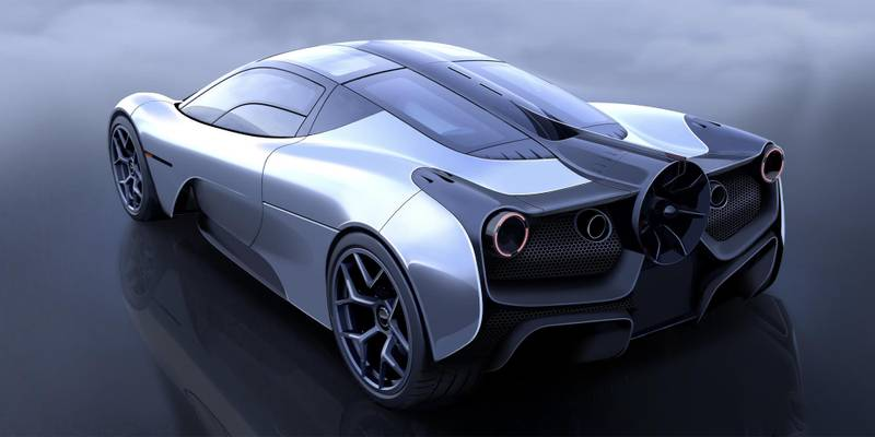 Gordon Murray Automotive partners with Racing Point for T.50 supercar
