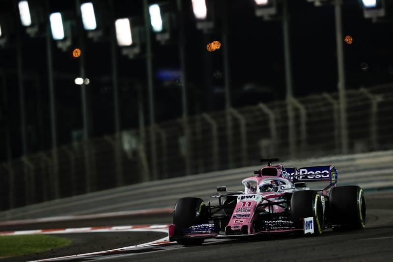 Sergio Perez's Racing Point