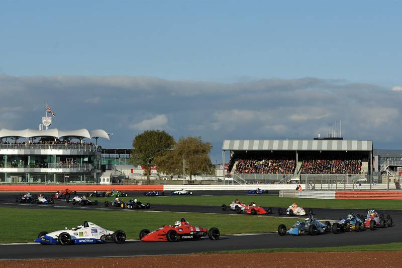 The 2019 Walter Hayes Trophy race at Silverstone