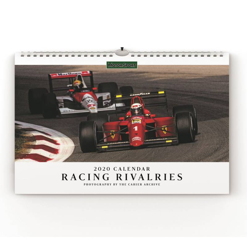 Product image for Motor Sport Calendar 2021 - Home Wins