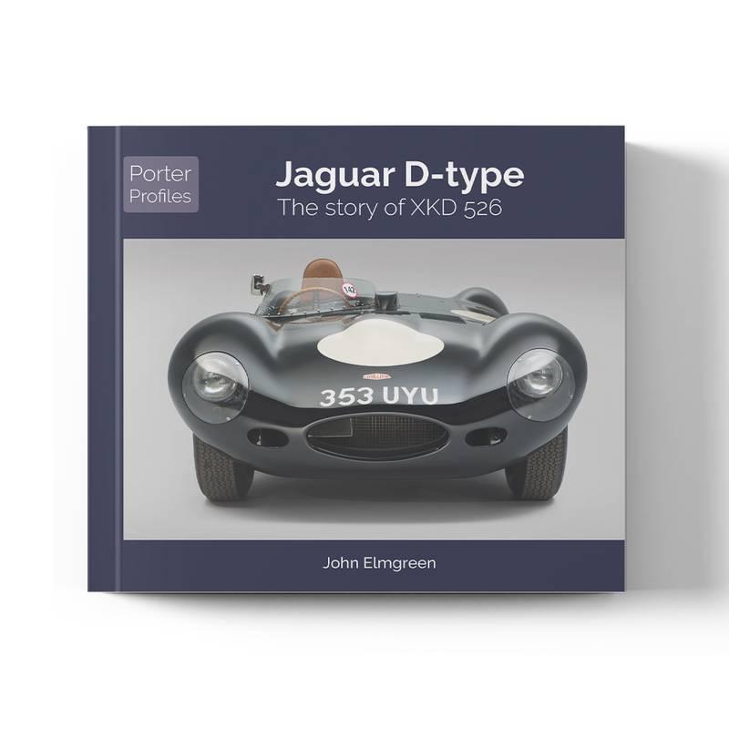Product image for Jaguar D-Type: The story of XKD 526   John Elmgreen   Book   Hardback