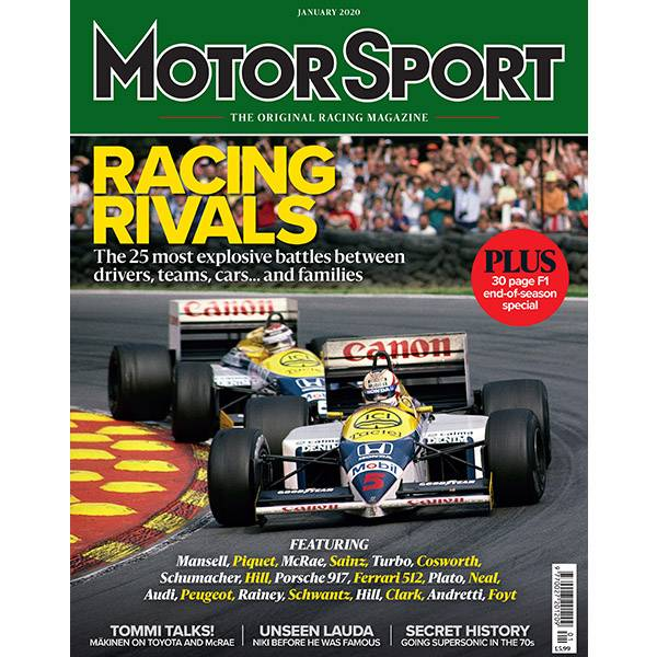 Product image for January 2020 | Racing Rivals | Motor Sport Magazine