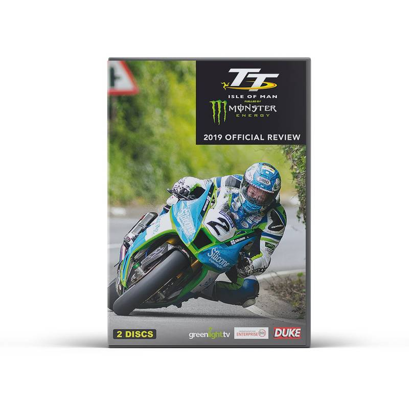 Product image for Isle of Man TT Races - 2019 Review | DVD / Blu-ray