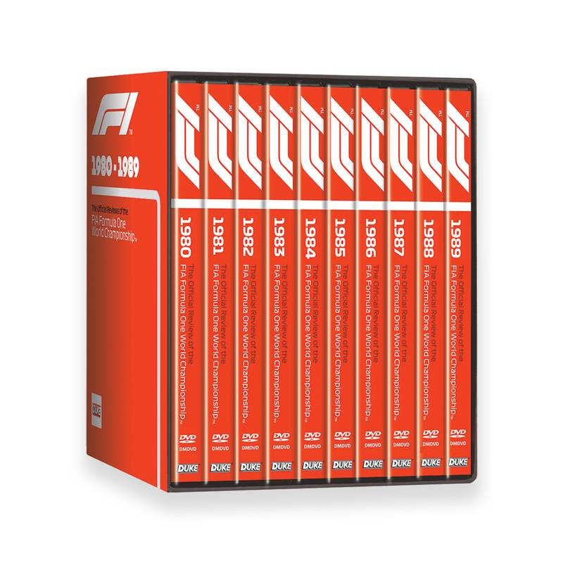 Product image for F1 | 1980-89 | DVD | Box Set
