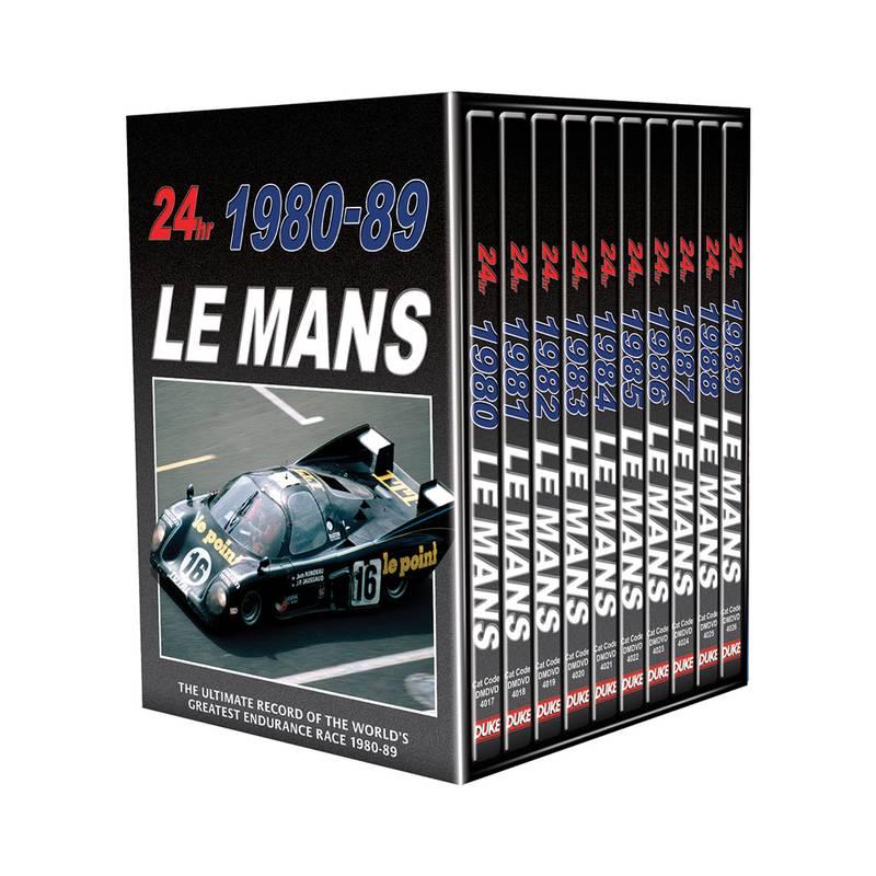 Product image for Le Mans | 1980 - 1989 | DVD | Box Set