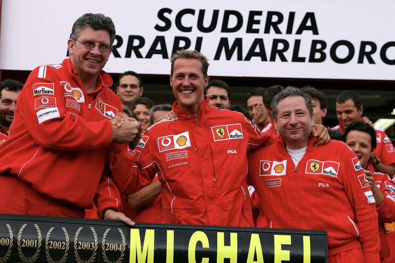 Brawn Schumacher and Todt