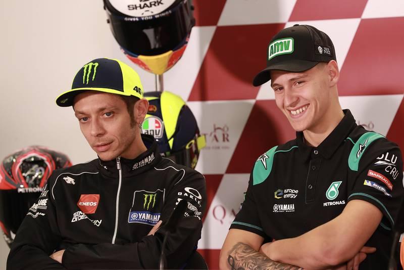Fabio Quartararo to replace Rossi at Yamaha factory team in 2021