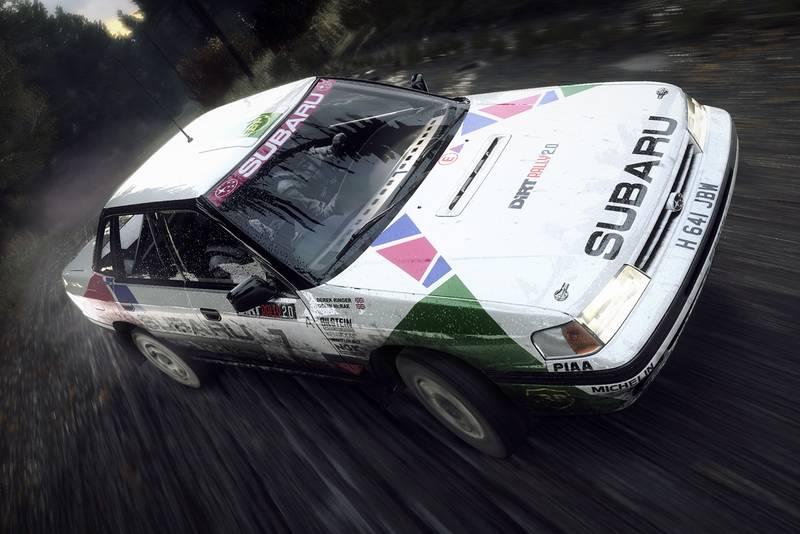 Subaru Legacy DiRT Rally 2