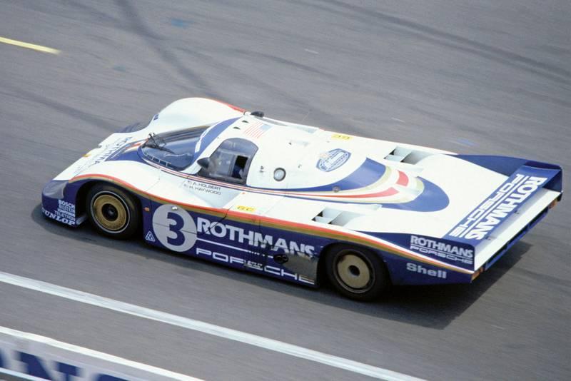 1982 Le Mans 24 hours. Le Mans, France. 19-20 June 1982. Hurley Haywood/Al Holbert/Jurgen Barth (Porsche 956), 3rd position.
