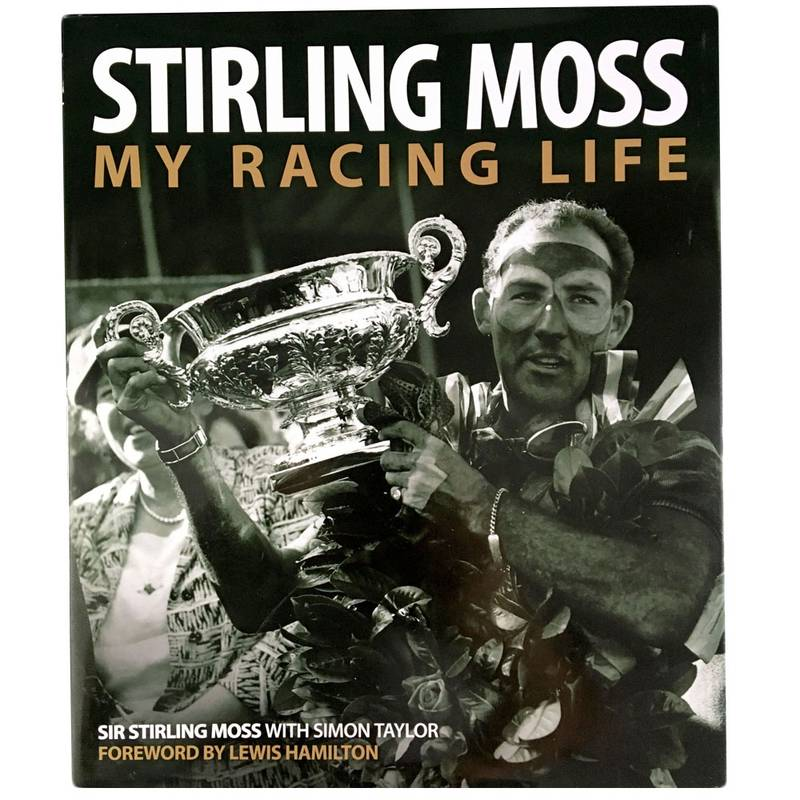 Product image for Stirling Moss: My Racing Life | signed Stirling Moss | Book | Hardback