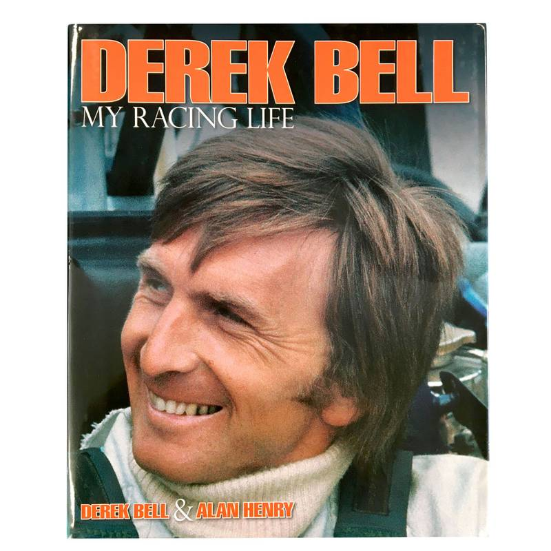 Product image for Derek Bell, My Racing life: signed book