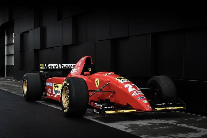 Michael Schumacher's first Ferrari F1 car to be sold