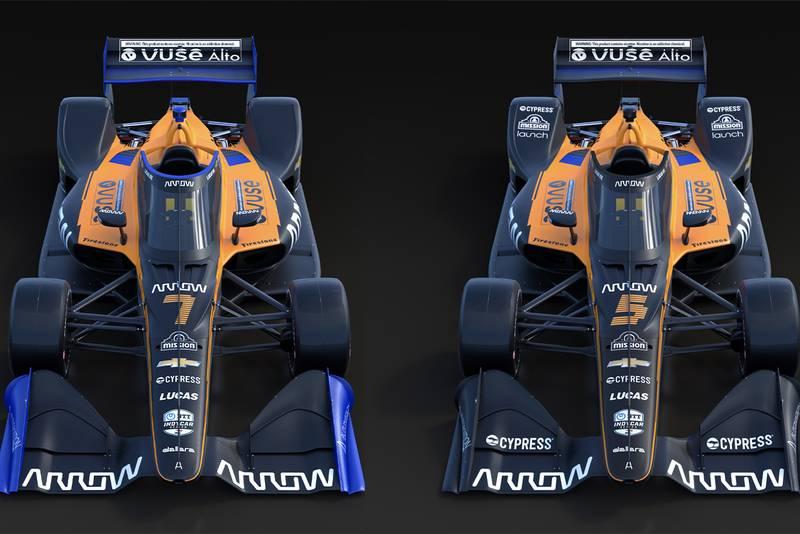 Arrow McLaren unveils IndyCar 2020 livery
