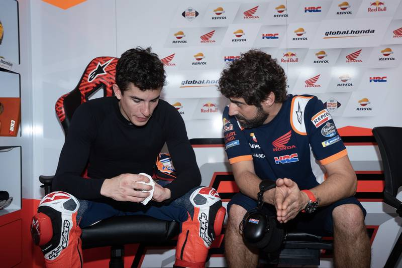 Márquez: 'I have to suffer to enjoy the race!'