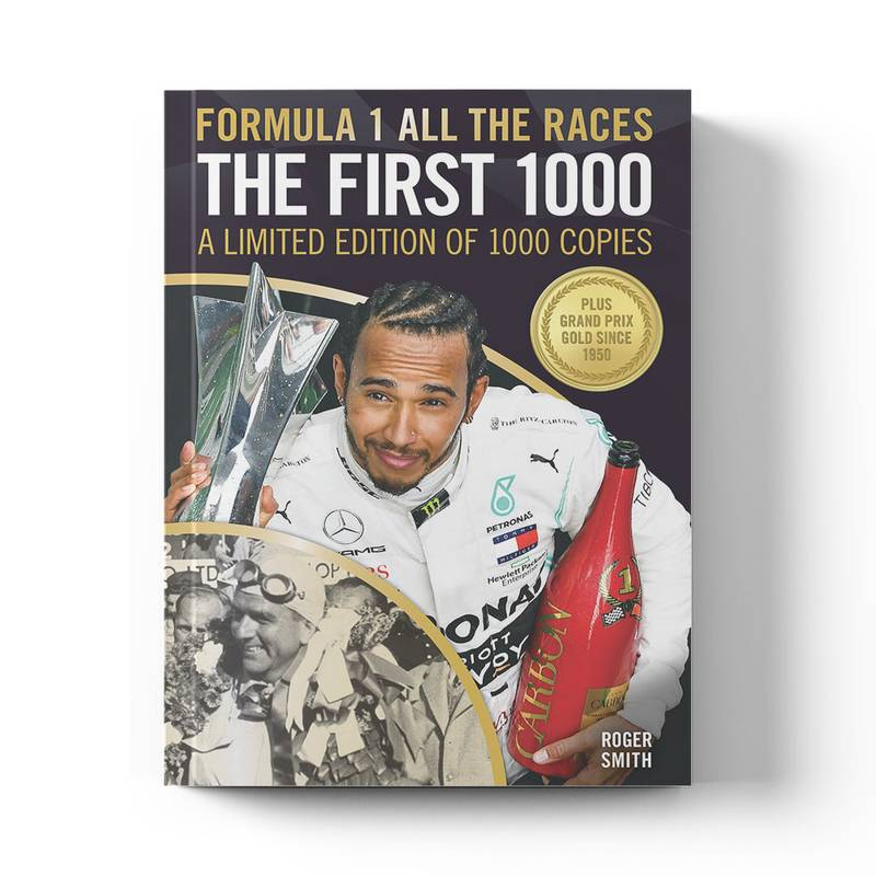 Product image for Formula 1 All The Races: The First 1000 | Limited Edition Book | Hardback