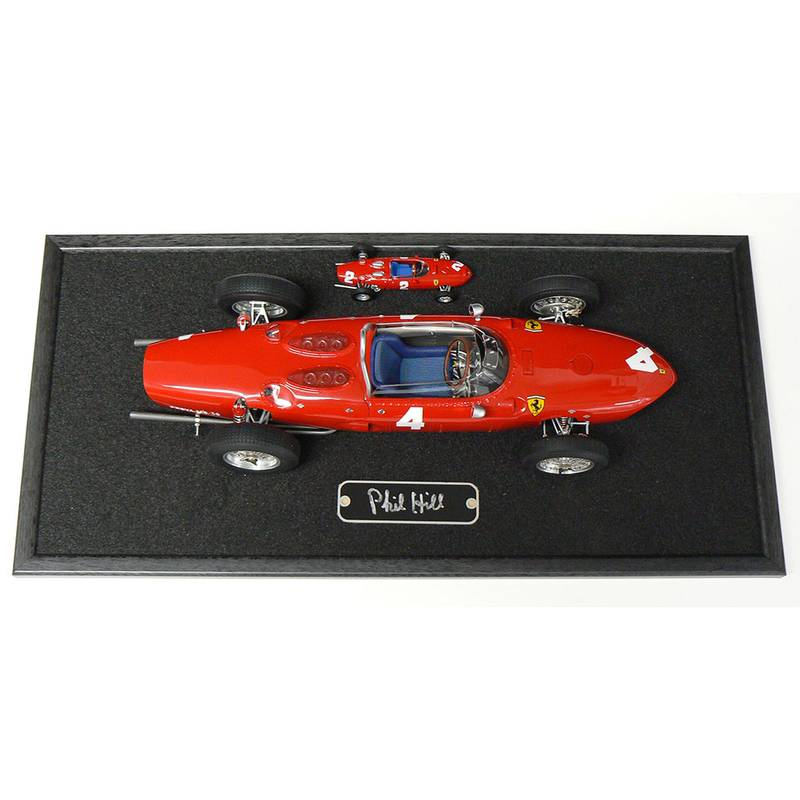 Product image for CMC 1/12 scale Ferrari 'Sharknose', signed Phil Hill