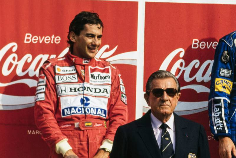 When Ayrton Senna was nearly banned from F1