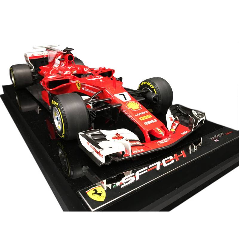 Product image for 1:12 Ferrari SF70H by Amalgam, signed Kimi Räikkönen