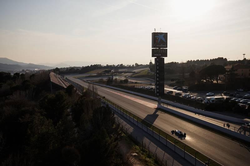 Valtteri Bottas in 2019 pre-season F1 testing
