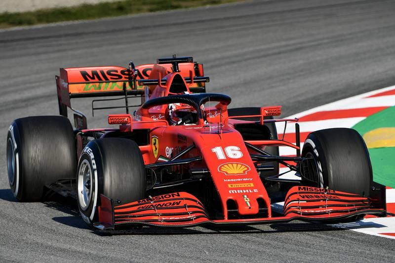 2020 F1 Barcelona pre-season test Day 1 Ferrari