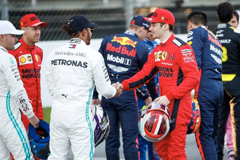 Handshakes at dawn: 2020 F1 testing begins