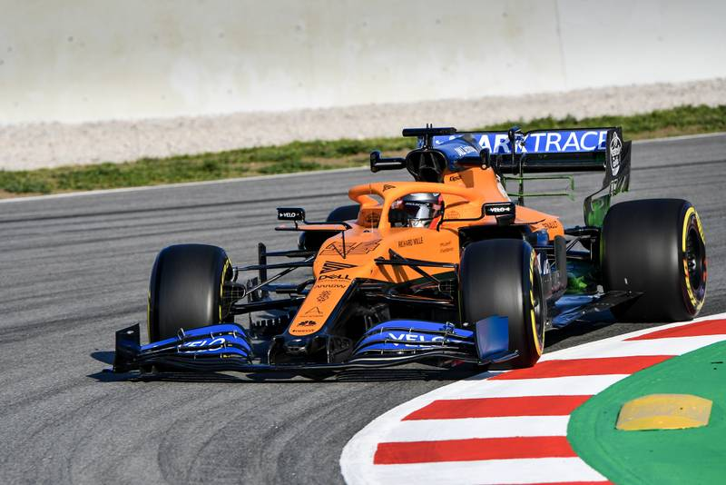 2020 F1 Barcelona pre-season test Day 1 McLaren