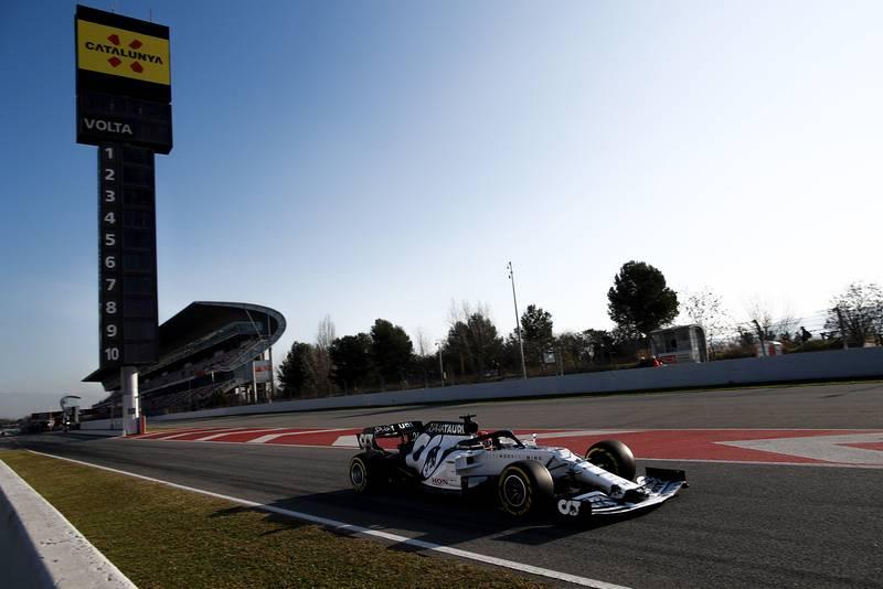 2020 F1 Barcelona pre-season test Day 1 AlphaTauri