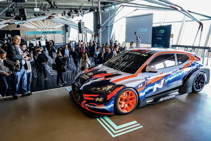Pure ETCR electric touring car series revealed