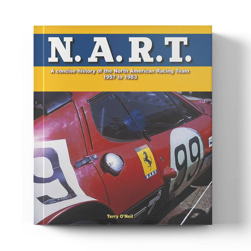 Product image for N.A.R.T: A Concise History of the North American Racing Team   Terry O'Neil   Book   Hardback