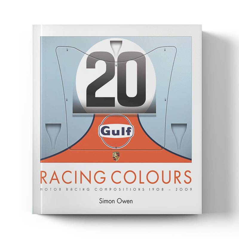 Product image for Racing Colours: Motor Racing Compositions 1908 - 2009   Simon Owen   Book   Paperback