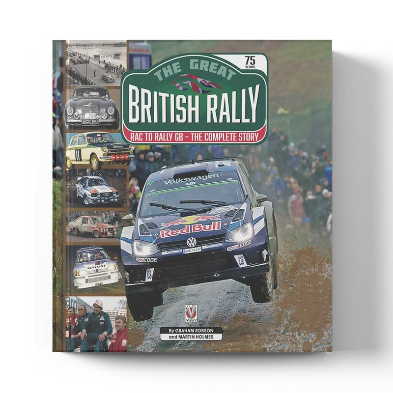 Product image for The Great British Rally: RAC to Rally GB - The Complete Story   Graham Robson & Martin Holmes   Book   Hardback