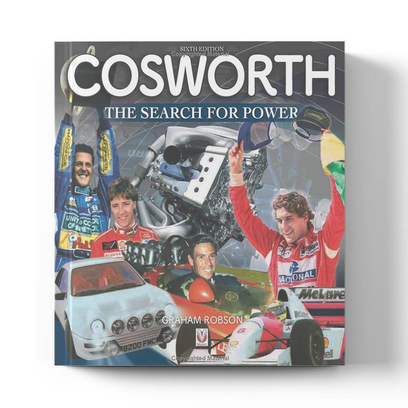 Product image for Cosworth - The Search for Power (6th Edition) by Graham Robson