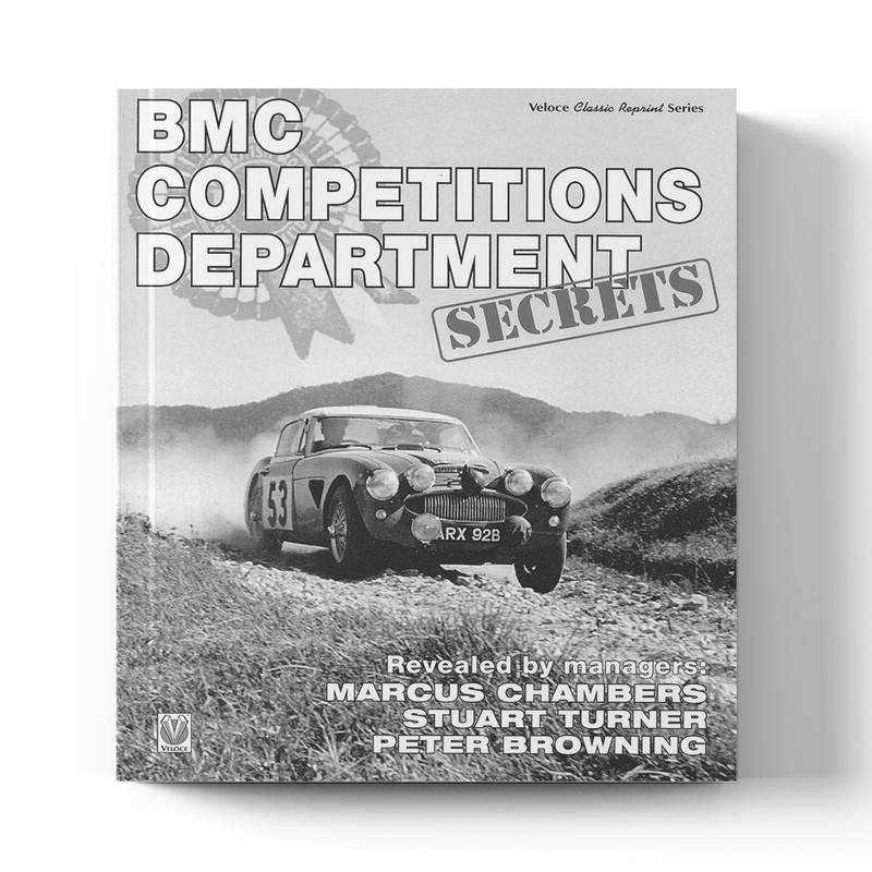 Product image for BMC Competitions Department: Secrets   Peter Browning, Marcus Chambers, Stuart Turner & Philip Young   Book   Hardback