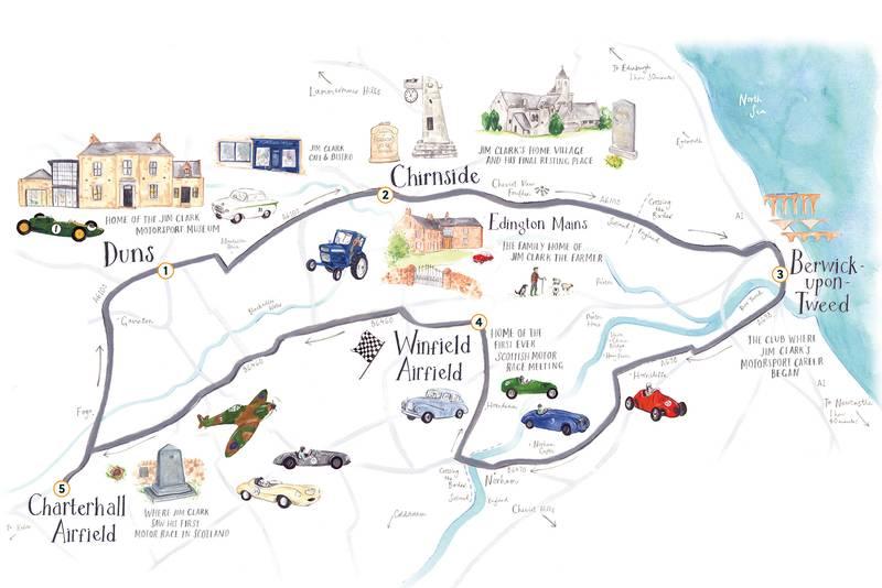 Jim Clark Trail Map