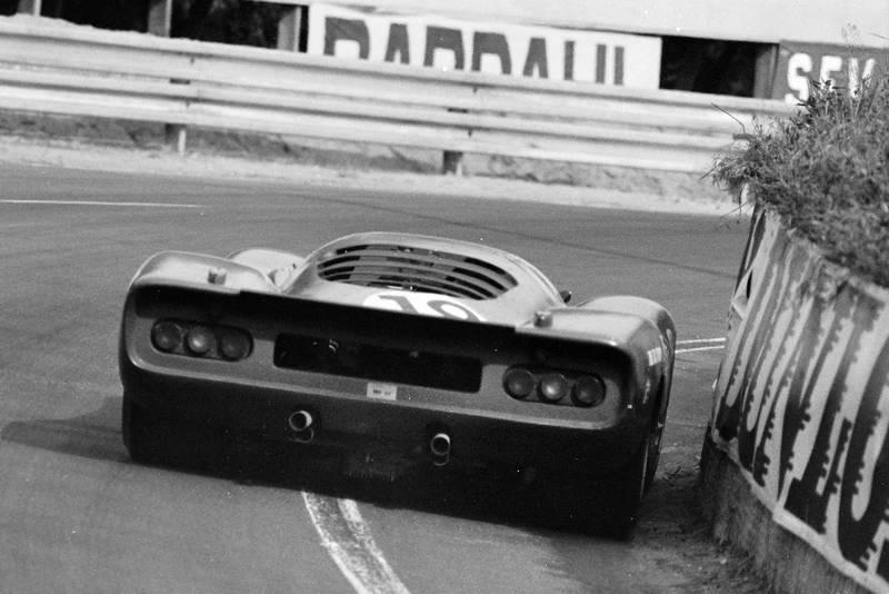 Ferrari 312P Le Mans
