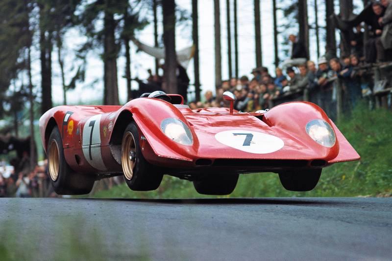 Ferrari 312P Nurburgring 1000 kms