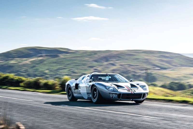 Ford GT40 panning