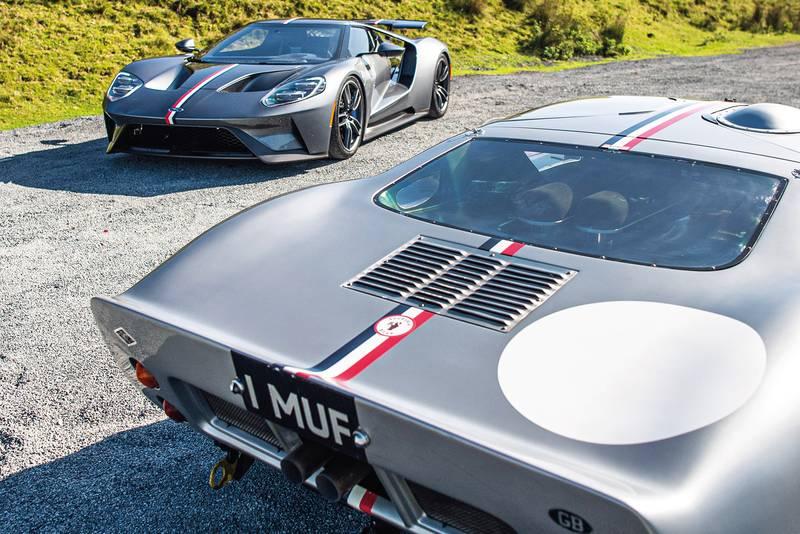 Ford GT40 rear