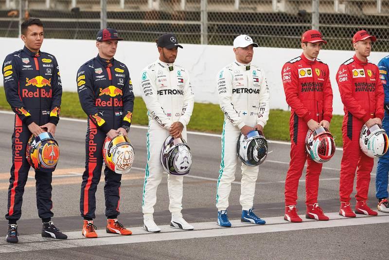 F1, Mercedes-AMG Petronas F1 Team, Valtteri Bottas, Lewis Hamilton, Tests, Barcelona