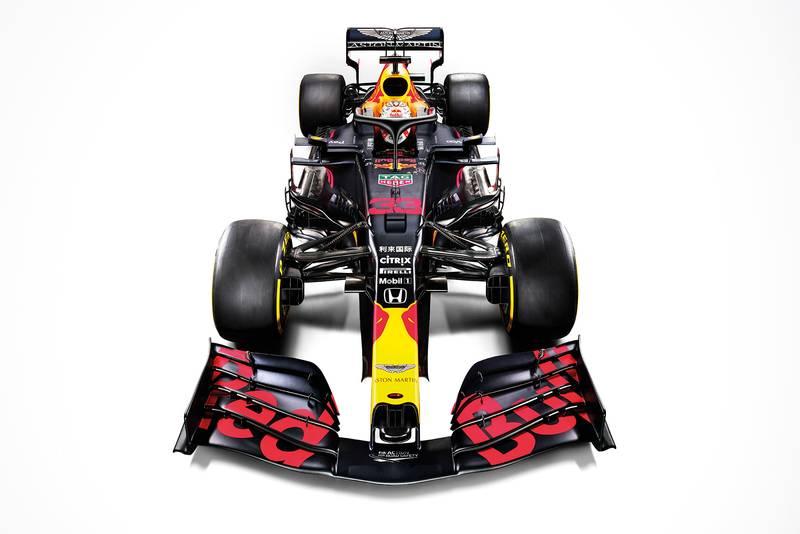 Max Verstappen's 2020 #33 Aston Martin Red Bull Racing RB16