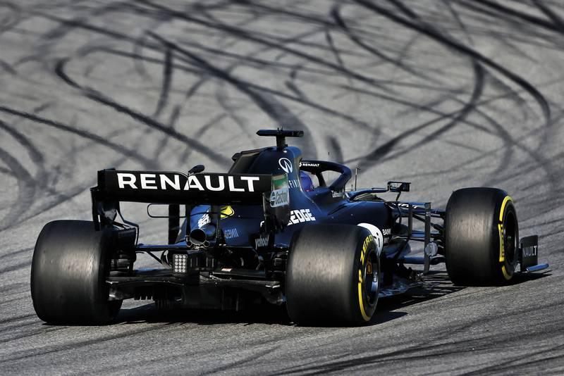 Renault 2020 F1 car